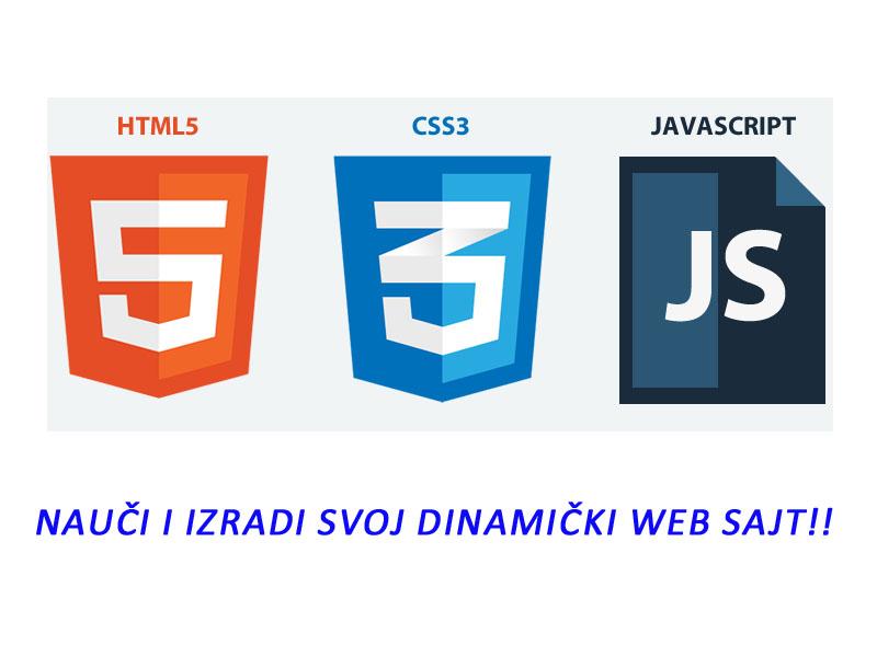 1000 din. umesto 20000 din. za online kursHTML5, CSS3 I JAVASCRIPT  na srpskom jeziku u okviru 3.5 meseca--24-časovni pristup svakog dana u naredna 3.5 meseca sa zavrscaronnim ispitom i sertifikatom na kraju obuke!  --USAVRScaronI SE! ndash Ogranak za online učenje, obuke i provere znanja -- NAUČI HTML5, CSS3 I JAVASCRIPT ZA SAMO 1.000 RSD, UMESTO 20.000 RSD I IZRADI SVOJ DINAMIČKI WEB SAJT Nauči da kreirascaron atraktivne web sajtove. Postani HTML5 i CSS3 developer i ovladaj moćnim tehnologijama koje korite stručnjaci iz oblasti web dizajna. HTML5, CSS3 i JavaScript nalaze se među najpopularnijim i najkoriscaronćenijim tehnologijama za izradu web sajtova. Online kurs HTML5, CSS3 I JavaScripta 3.5 meseca kursa Pristup platformi24 sata dnevno, 7 dana u nedelji Sertifikat na kraju obuke HTML5 obezbeđuje tri osnovne osobine veb strana: strukturu, stil i funkcionalnost. HTML5 se nezvanično smatra proizvodom koji objedinjuje HTML, CSS i JavaScript, čak i onda kada ne sadrži pojedine interfejse za programiranje aplikacija u JavaScriptu, pa ni celu specifikadju CSS3. HTML, CSS i JavaScript međusobno su zavisne tehnologije koje deluju kao celina organizovana u okviru specifikacije HTML5. HTML je zadužen za strukturu, CSS za prezentaciju, odnosno predstavljanje strukture i sadržaja veb strane na ekranu, a JavaScript zavrscaronava sve ostalo, scaronto je izuzetno značajno. Na ovom kursu naučićemo kako se pravi takva struktura pomoću novih elemenata ovih jezika. Početne lekcije možete videti besplatno: https://online.usavrsi.se/courses/html5 Scaronta ćescaron naučiti: 1. HTML5 Opscaronta struktura Otključano Struktura tela dokumenta Otključano Element ndash header Otključano Element ndash nav Element ndash section Element ndash aside Element ndash footer Telo dokumenta Element ndash article Element ndash hgroup Element ndash figure i figcaption Element ndash details i summary Element ndash mark Element ndash small Element ndash cite Element ndash address Element ndash wbr Elem